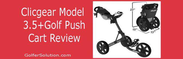 Clicgear Golf Push Cart Review