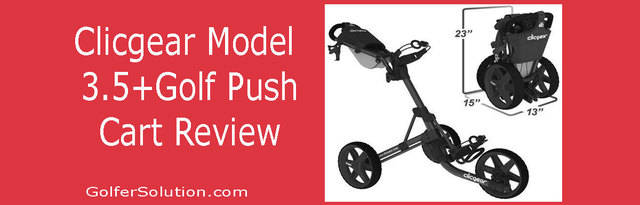 Clicgear Golf Push Cart Review