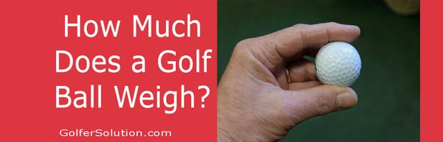 How Much Does a Golf Ball Weigh in Pounds & in Grams