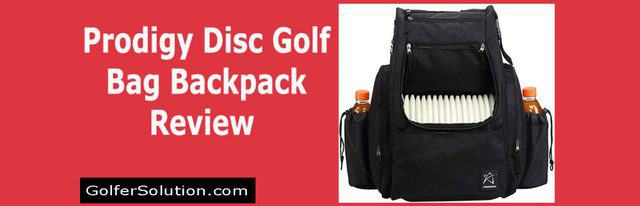 Prodigy Disc Golf Bag Backpack Review