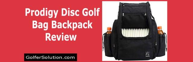 Prodigy Disc Golf Backpack Bag Review – Model BP-2 Disc Golf