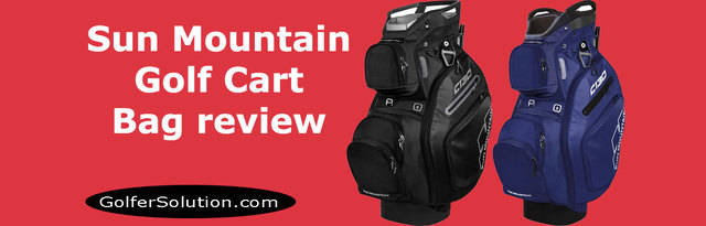 Sun Mountain C-130 Golf Cart Bag review