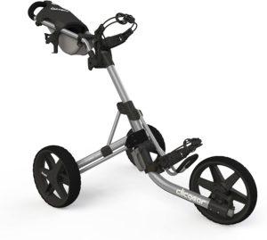 clicgear model 3.5+ 3-wheel golf push cart