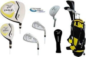 Junior Eagle Graphite Golf Clubs Set for Boys & Girls